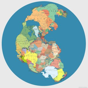 map-of-pangea-with-current-internatoinal-borders